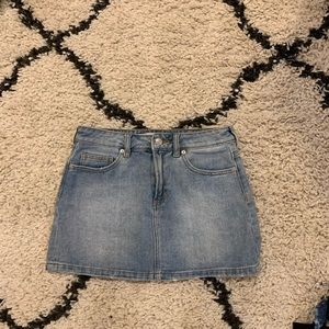 Dresses & Skirts - Brandy Melville Jean Mini Skirt